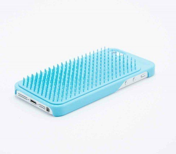 Yobrush is part iPhone cover part hair brush