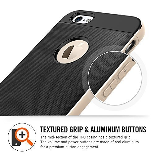 buy online 14de5 29b7a Review: The Spigen Neo Hybrid Metal iPhone 6 Case Delivers - Gadget News