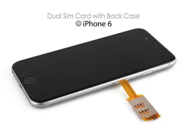 dual sim iphone 6