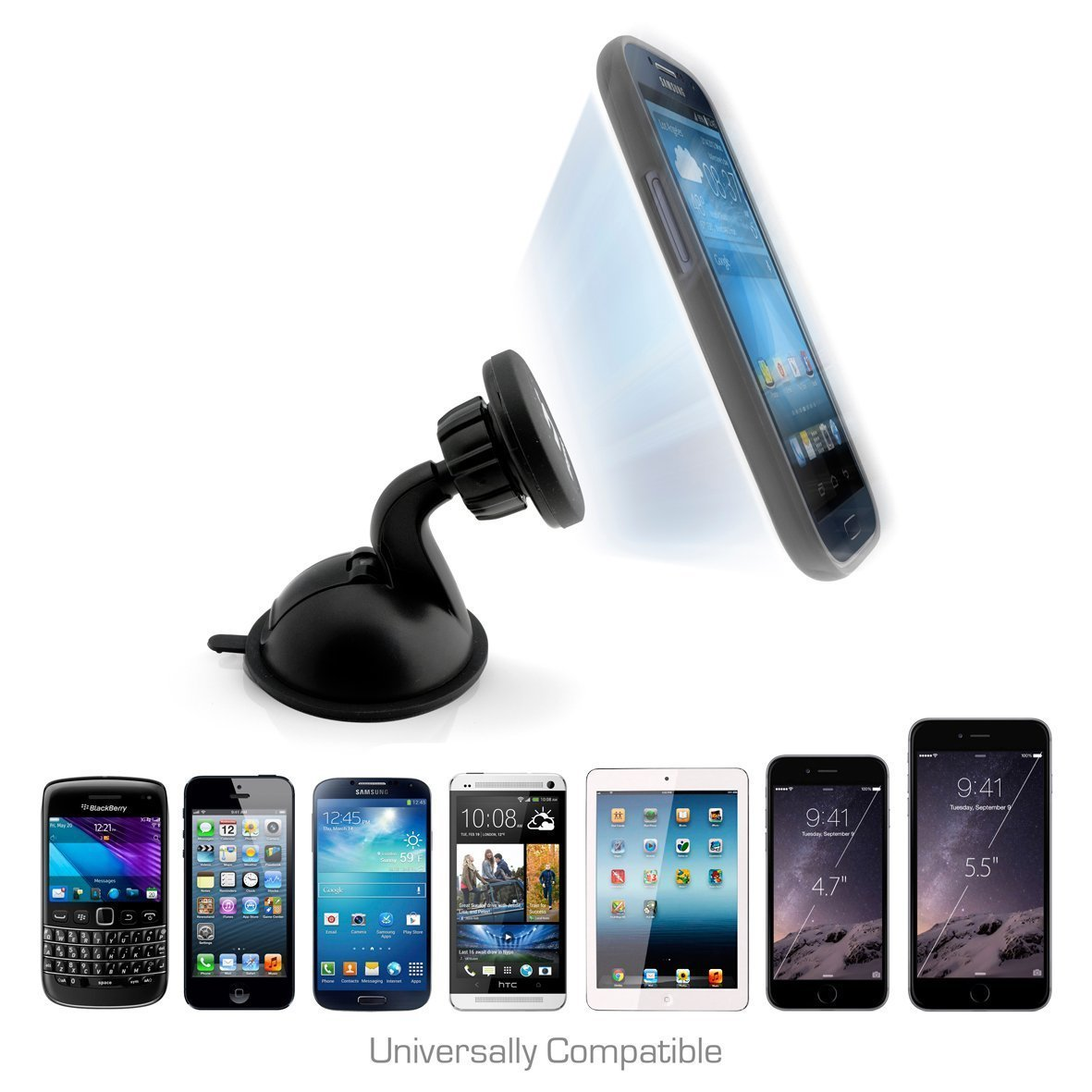 iMagnet Car Mount is the most convenient phone mount for your vehicle